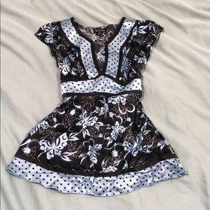 Bebe silk kimono top